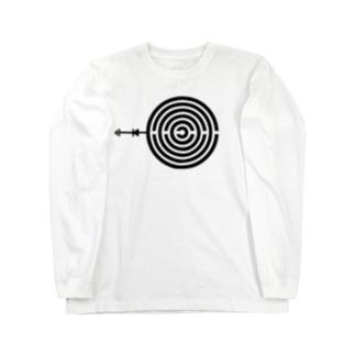 怒りの御灯明 Long sleeve T-shirts