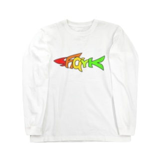 TuneBsideのSHARK Long sleeve T-shirts