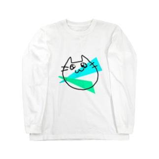 らくがきねこ Long sleeve T-shirts