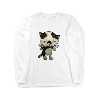 ブネコ1 Long sleeve T-shirts