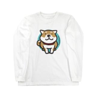 しばわんこ Long sleeve T-shirts