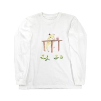 【KAMAP】ポップコーンとキンクマ Long Sleeve T-Shirt