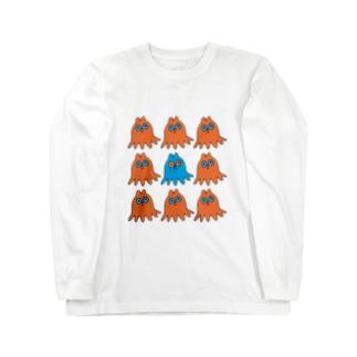 タコクマ Long sleeve T-shirts