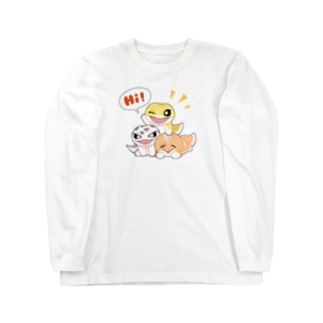 Hi!3匹 Long sleeve T-shirts