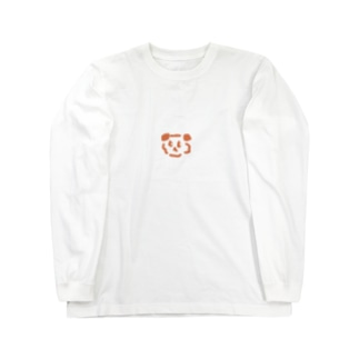 ニーハオぱんだ Long sleeve T-shirts