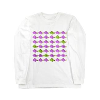 ぎょだくさん Long sleeve T-shirts