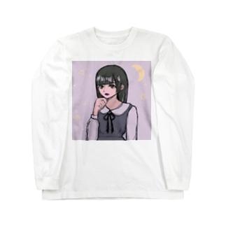 地雷感漂う姫カットちゃん Long sleeve T-shirts