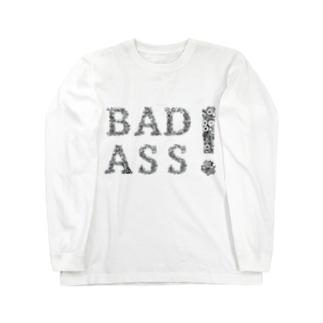 からくりナットでBAD ASS! Long sleeve T-shirts