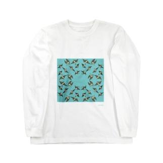 古生物そらのいきもの Long sleeve T-shirts