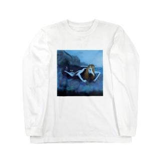 アマビエ Long sleeve T-shirts