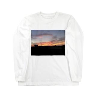 夕焼けぞら Long sleeve T-shirts