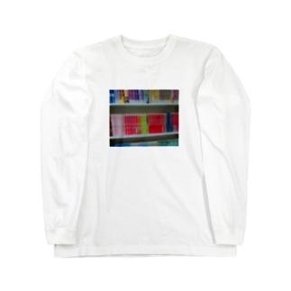 本棚 Long Sleeve T-Shirt
