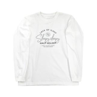 Sleepy Sleepy Tシャツ Long sleeve T-shirts