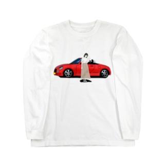 納車しました。③ Long sleeve T-shirts