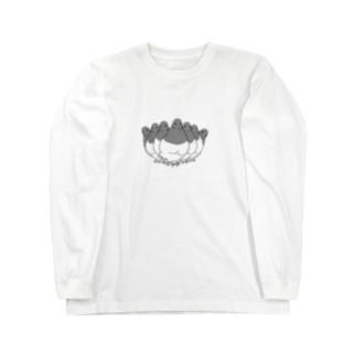 鳩セブン Long sleeve T-shirts
