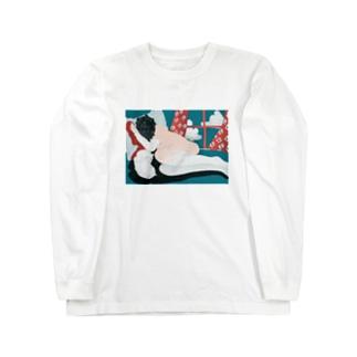 HOHOEMI🍋のおひるねすやり Long sleeve T-shirts