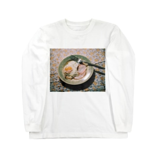 ハムエッグ Long sleeve T-shirts