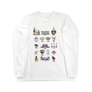 沖縄の宝 Long sleeve T-shirts