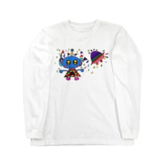 ゆるかわ宇宙人6 Long sleeve T-shirts