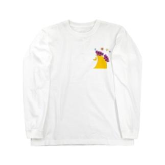 ゆるかわ宇宙人7 Long sleeve T-shirts