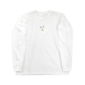 櫻井保幸 yasuyuki sakuraiのかお。 Long sleeve T-shirts