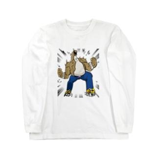 タイタン Long sleeve T-shirts