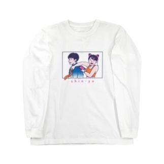 shin-yuロングスリーブTシャツ Long sleeve T-shirts