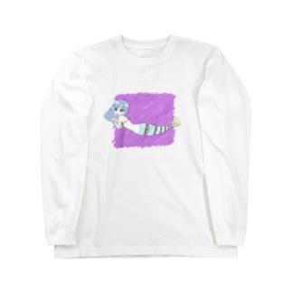 お刺身人魚さん Long sleeve T-shirts