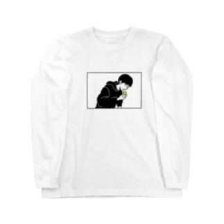 キウイロングスリーブTシャツ Long sleeve T-shirts