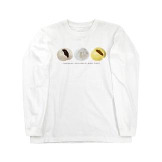 中華まんトリオ Long sleeve T-shirts