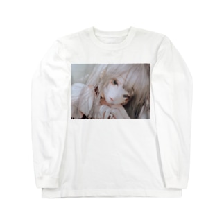 オフホワイト Long sleeve T-shirts