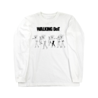 JUST WALKING DoT Long sleeve T-shirts