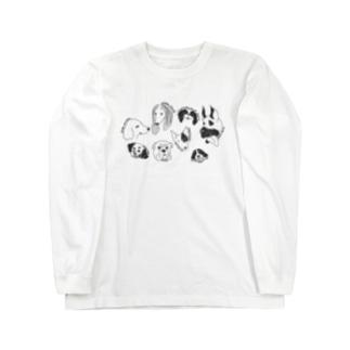 dog breed Long sleeve T-shirts