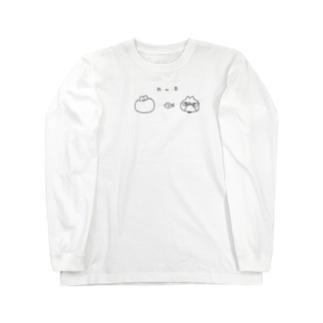 N to B 別色 Long sleeve T-shirts