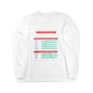 WAREHOUSE Long sleeve T-shirts