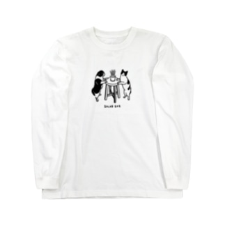 サラダバー Long sleeve T-shirts