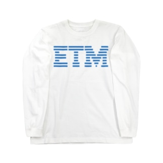 某コンピューターETM Long sleeve T-shirts