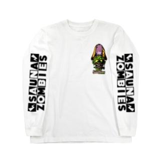 SAUNAZOMBIES -CARTOON FRANKEN LONG SLEEVE T - Long sleeve T-shirts