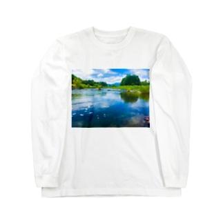 荒川(in栃木) Long sleeve T-shirts