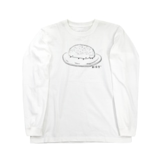 おはぎ Long sleeve T-shirts