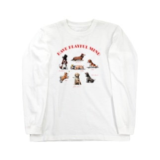 DOGS Long sleeve T-shirts