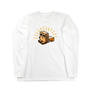 繧ケ繝輔ぅ繝ウ繧ッ繧ケ Long sleeve T-shirts