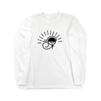 繝帙Ν繧ケ縺ョ逶ョ Long sleeve T-shirts