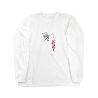 -HIYODORI No.1- Bird call Long sleeve T-shirts