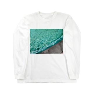 みどりのふんすい Long sleeve T-shirts