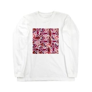 wamiの八雲立つ赤 Long sleeve T-shirts