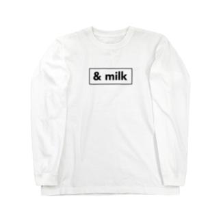 & milk boxlogo Long sleeve T-shirts