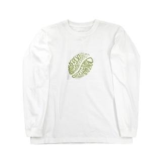 mameya_flat 長袖Tシャツ Long sleeve T-shirts