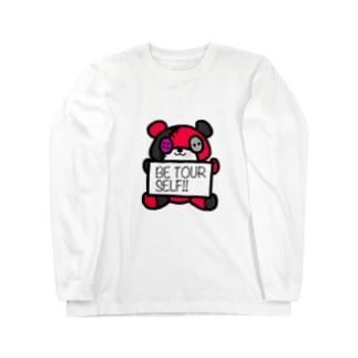ばんくま!!(スカーレット) Long sleeve T-shirts