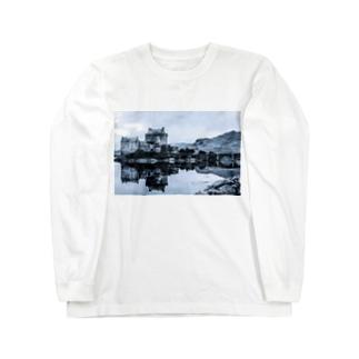 フォトプリント スコットランド Long sleeve T-shirts